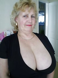 Busty mature granny